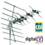 Outdoor TV Aerials - 27887D SLx 32 element aerial