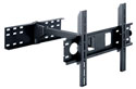 "Professional Black ""Shake Free"" Single Arm TFT / LCD / Plasma Wall Mount Bracket from 23"" to 40"""