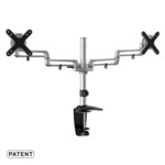 "ET01-C024 Desk Brackets for 13""-23"" LCD Monitors and screens"