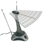 Indoor TV Aerials - SLx  27769  Digi-Top amplified aerial