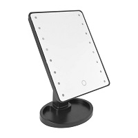 16 LED Light Magnifying Mirror Touch Screen Make Up Stand Table Beauty Cosmetic