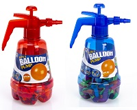 2 Pack Balloon Pumper Red and Blue