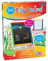 2 in 1 Kids Black Board and White Board Magnetic
