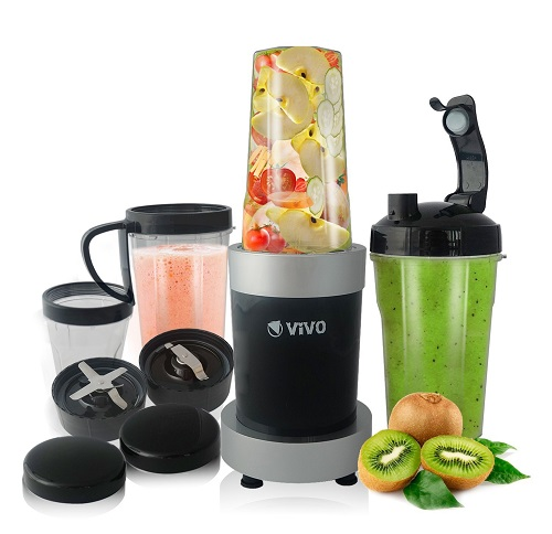ViVo© Professional 900W 11pc Blizzard Multi Vegetable Fruit Blender Food Processor