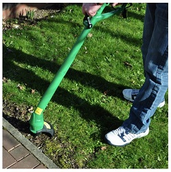 250W Mains powered electric grass trimmer