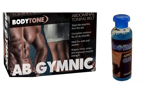 AB GYMIC BODY TONER PLUS ONE GEL BOTTLE