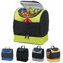 7.5L Double Cooler Cool Bag Box Picnic Camping Food Drink Festival Shopping Ice