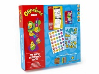 Cbeebies My First Creative Learning Set Activity Jumbo Pencils Stickers Kids Fun