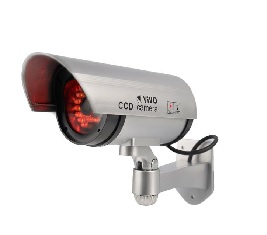 30 LED 100% Realistic Silver Dummy CCTV Fake Digital Camera