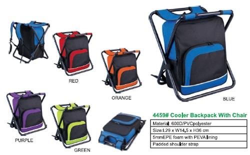 Cooler BackBag with chair
