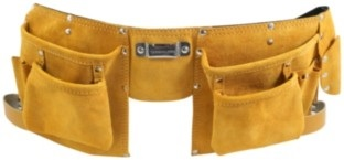 DEKTON 11 POCKET LEATHER TOOL BELT