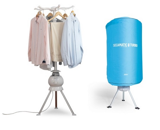Secamatic Turbo electric clothes dryer.