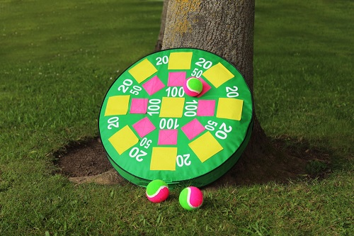 Garden target game inflatable