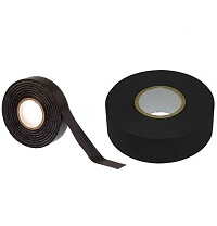 10 ROLLS OF BLACK ELECTRICAL PVC INSULATION INSULATING TAPE 18MM x 15M