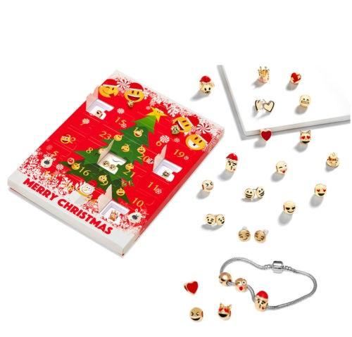 Christmas-Emoji-Jewellery-Advent-Calendar-8-Stunning-Earrings-Gift-Present-Xmas