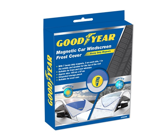 Good year Frost free magnetic windscreen cover