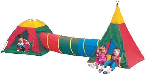 Children's Pop-Up Play Tent & Tunnel